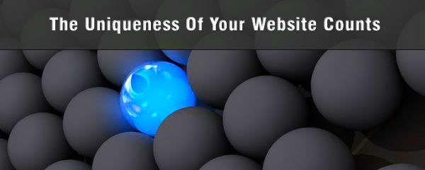 Content is Crucial - The Uniquiness of your website counts